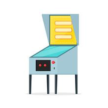 Pinball Machine Icon. Clipart ...