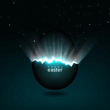 Broken Easter Egg Giving Birth...