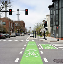 Protected Bike Lane And Inters...
