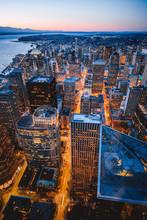 Night Lights Of Seattle