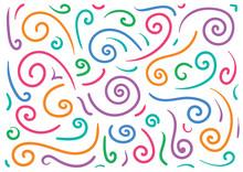 Hand Drawing Spiral Set