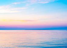 Door County Peninsula At Sunset