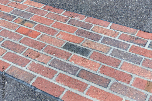 Fotografía  The yard of bricks in Indianapolis Motor Speedway