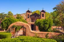 El Santuario De Chimayo Historic Church In New Mexico