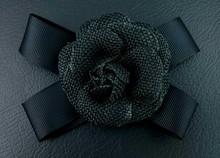 Beautify Fabric Flower Brooch Pin