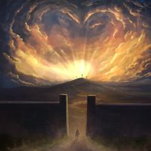 Digital Painting Of Love Surro...