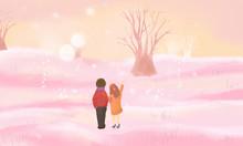 Romantic Couples Illustrations