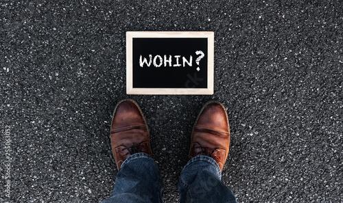 Fotografia, Obraz  Wohin?