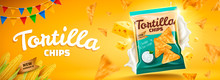 Delicious Tortilla Chips Banner Ads
