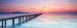 Stille am Strand am Steg