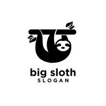 Sloth Logo Icon Designs Vector Illustration Symbol Template