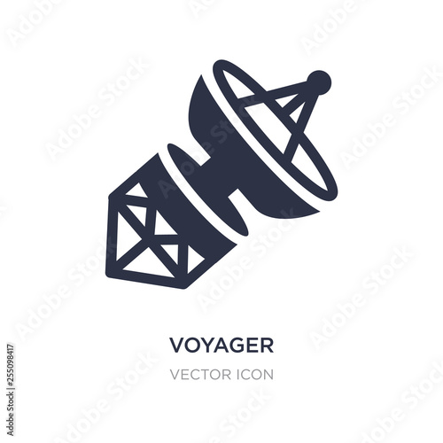 Fotografia, Obraz voyager icon on white background