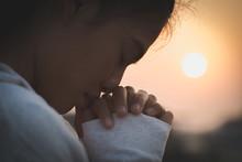 Pray In The Morning , Woman Pr...