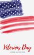 USA Veterans day background