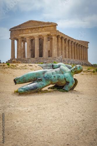 Fotografie, Obraz  the Akropolis at Selinunte Segesta Sicily