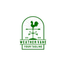Weather Vane Logo Design In Vi...