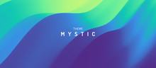 Abstract Background With Dynamic Effect. Mystic Vector Illustration..Trendy Gradients. Can Be Used For Advertising, Marketing, Presentation.