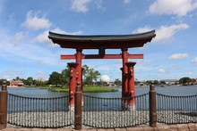 Japan Pavillion In EPCOT Center