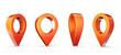 Leinwandbild Motiv location pin