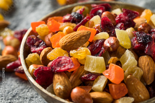 Fotografie, Obraz  Healthy Dried Fruit and Nut Mix