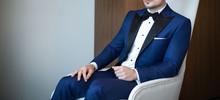 Man Model In Expensive Custom ...