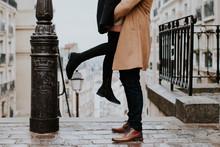 Deux Amoureux à Montmartre
