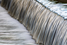 Close Up Of Flowing Water
