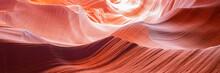Scenic Art Canyon Antelope With Dream Waves, Arizona, USA