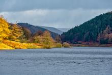 View Of Derwent Reservoir, Peak District, Derbyshire, UK.