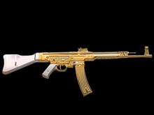 Golden Assault Rifle - Vintage - Side View