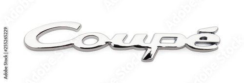 Fotografia, Obraz  Chrome Coupe Badge