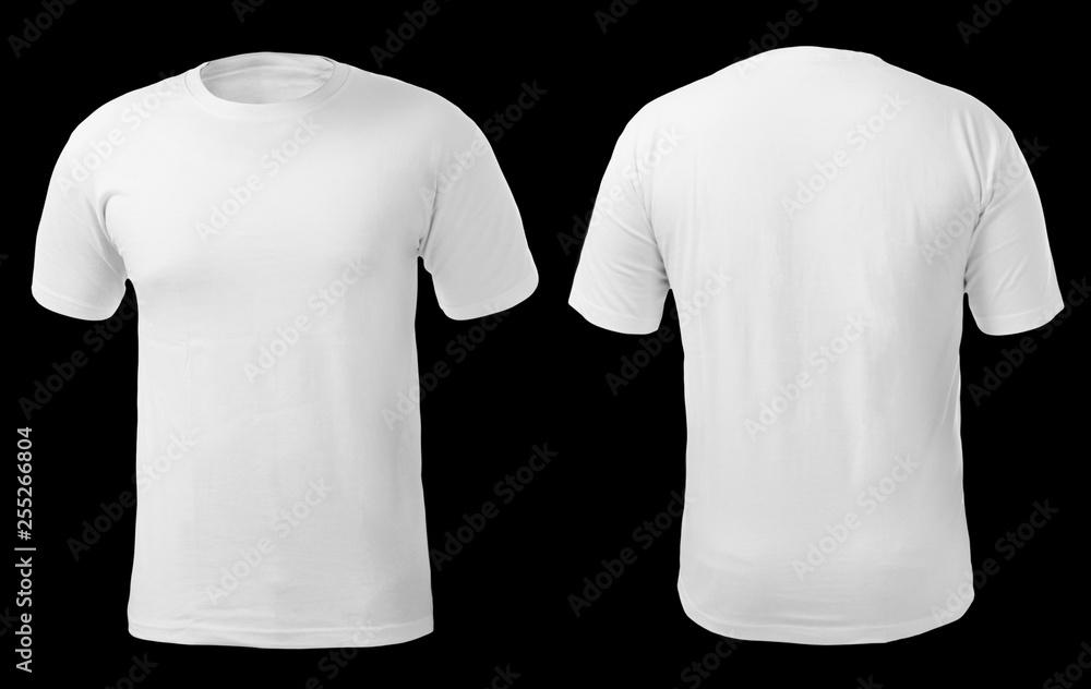 Fototapety, obrazy: White Shirt Design Template