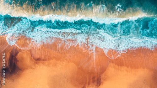 Aerial Australian Beach Landscape, Great Ocean Road