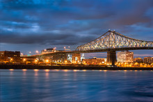Jacques Cartier Bridge In Canada