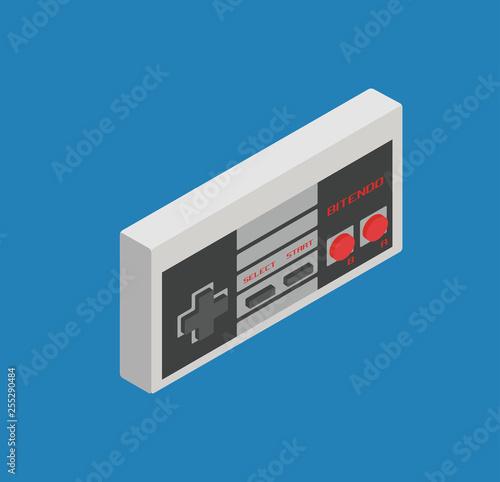 Fototapeta  retro gamepad