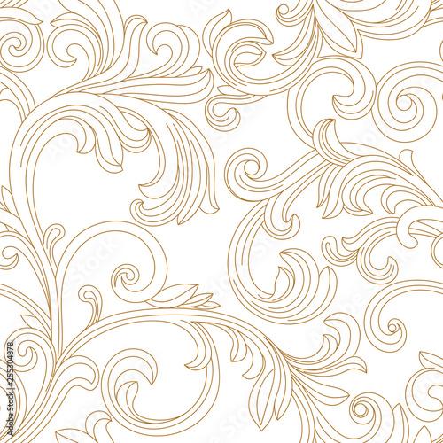 zloty-rocznika-bezszwowy-wzor-ornament-wektor