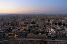 City Of Aleppo, Syria, Evening...