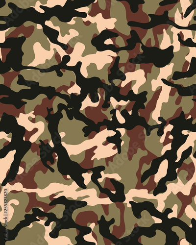 photo regarding Camo Printable Paper called Camouflage habit.Seamless navy wallpaper.Armed forces layout