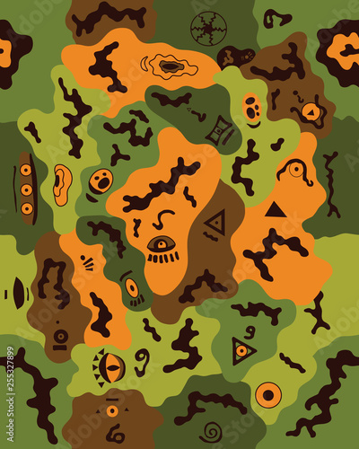 picture regarding Camo Printable Paper referred to as Camouflage behavior.Seamless navy wallpaper.Navy style