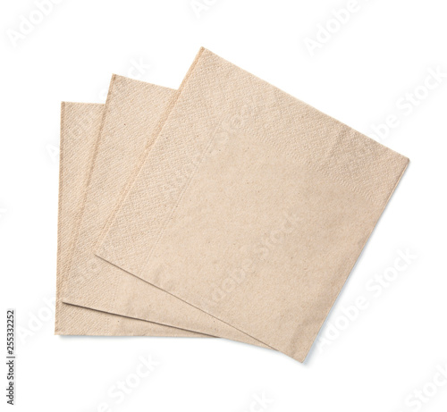 Obraz na plátně Eco friendly disposable paper napkin