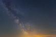 night starry sky with milky way