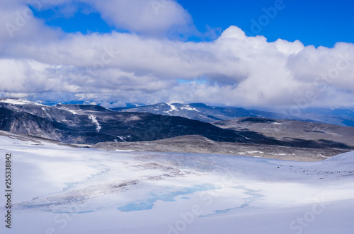 Fotografie, Obraz  Glacier in the mountain Glittertind