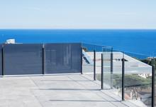 Glass Balcony With Sea Views.