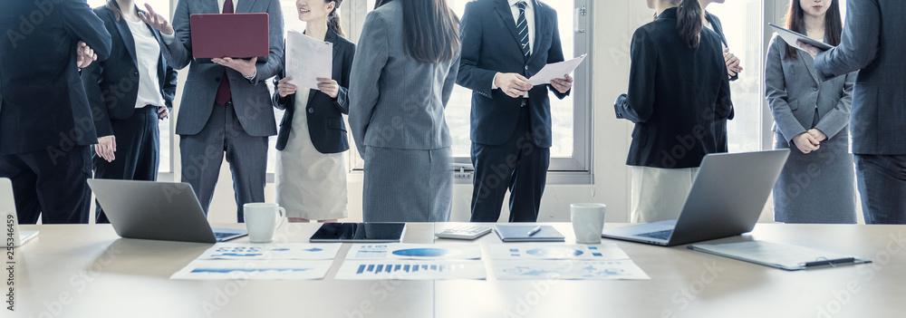 Fototapeta ビジネスグループ