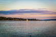 View of Oslofjord from Bygdoy peninsula, Oslo, Norway