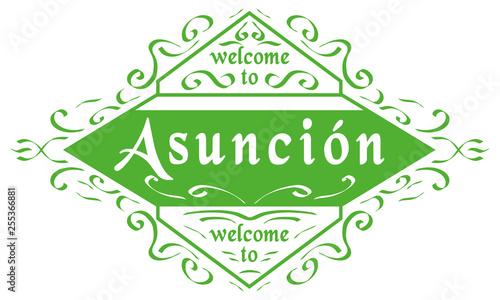 Photo Welcome to Asunción