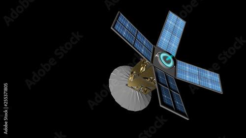 CubeSat et propulsion ionique Canvas Print