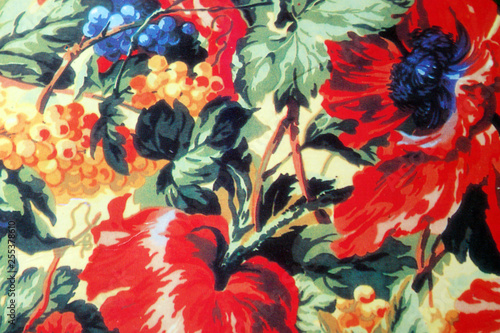 Wall Murals Floral blume rot natur weintraube mohn pflanze