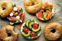 Bagel Sandwich Healthy