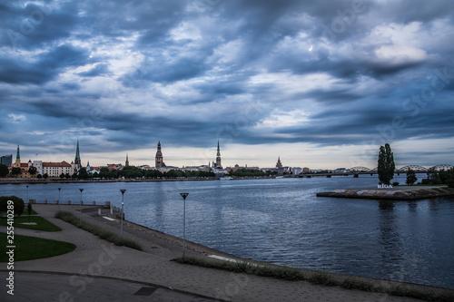 Poster Antwerp Latvia.Riga